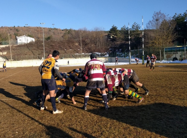 SERIE C2 - Vecchie Fiamme Old vs Rugby Falconara 6 - 25