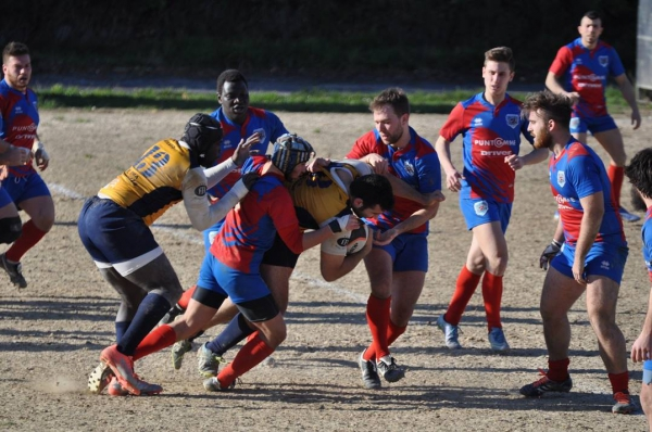 SERIE C1 - Fano vs Falconara  38 - 19 (5 -0)
