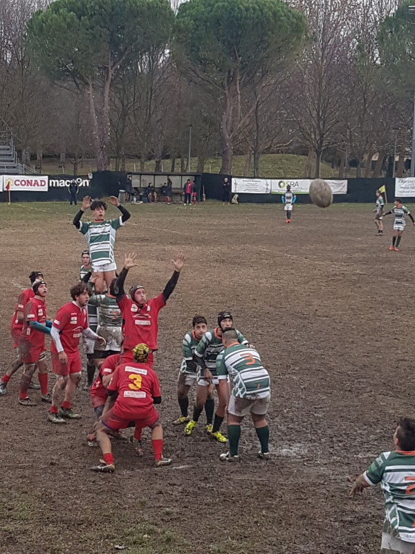 UNDER 18 - Rugby Pesaro vs Rugby Jesi 10 - 15